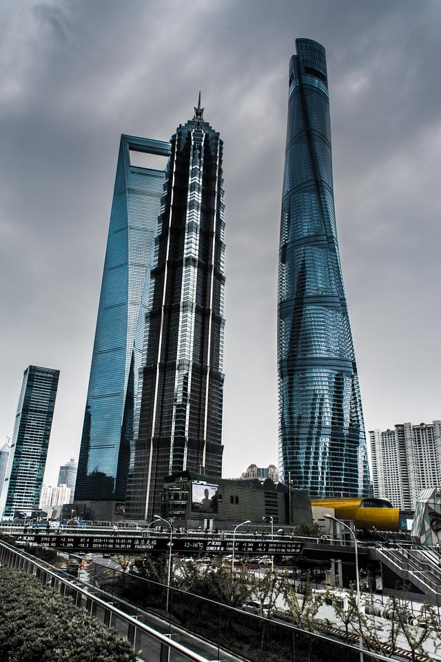Mega Towers ofShanghai